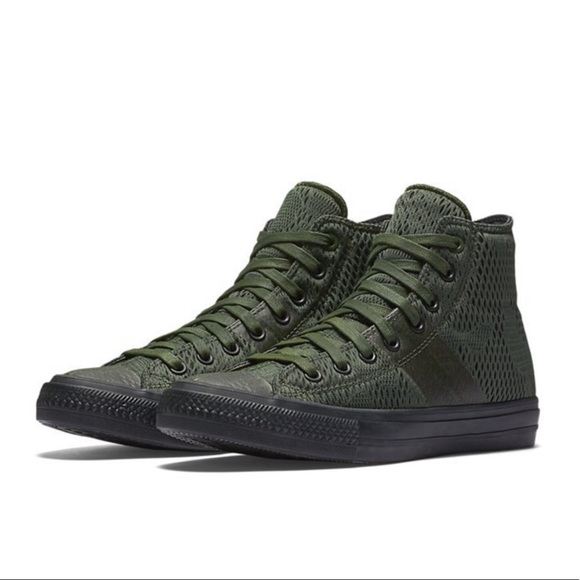 fe867e8d90fa Converse 155075C All Star II Mesh Green Sz 8 Shoes